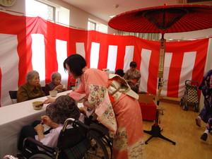 6コミュニティセンターお茶会